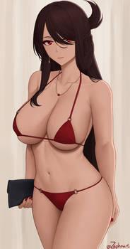 [Genshin Impact] Casual Beidou (Bikini ver.)