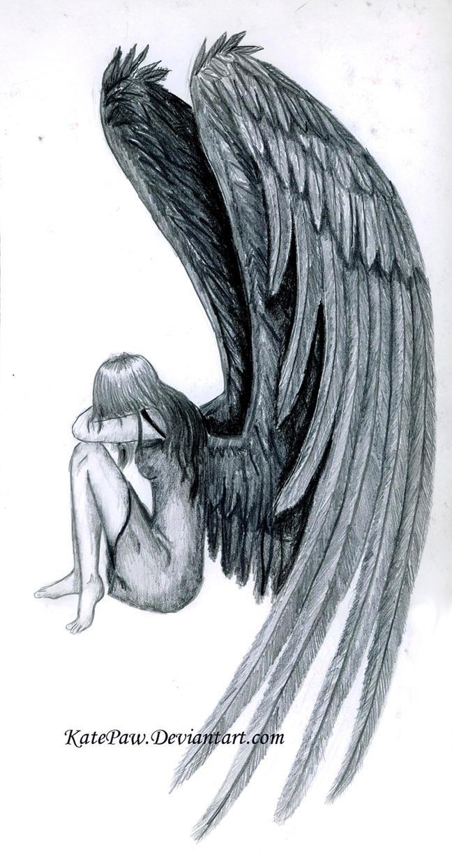 Fallen Angel by KatePaw on DeviantArt