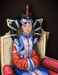 Borte, empress of the Mongols