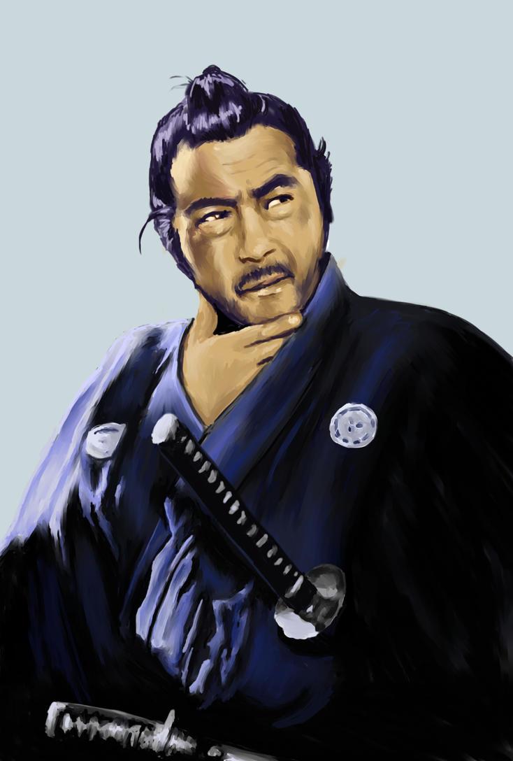 Sanjuro - Toshiro Mifune by nienorSanjuro Wallpaper