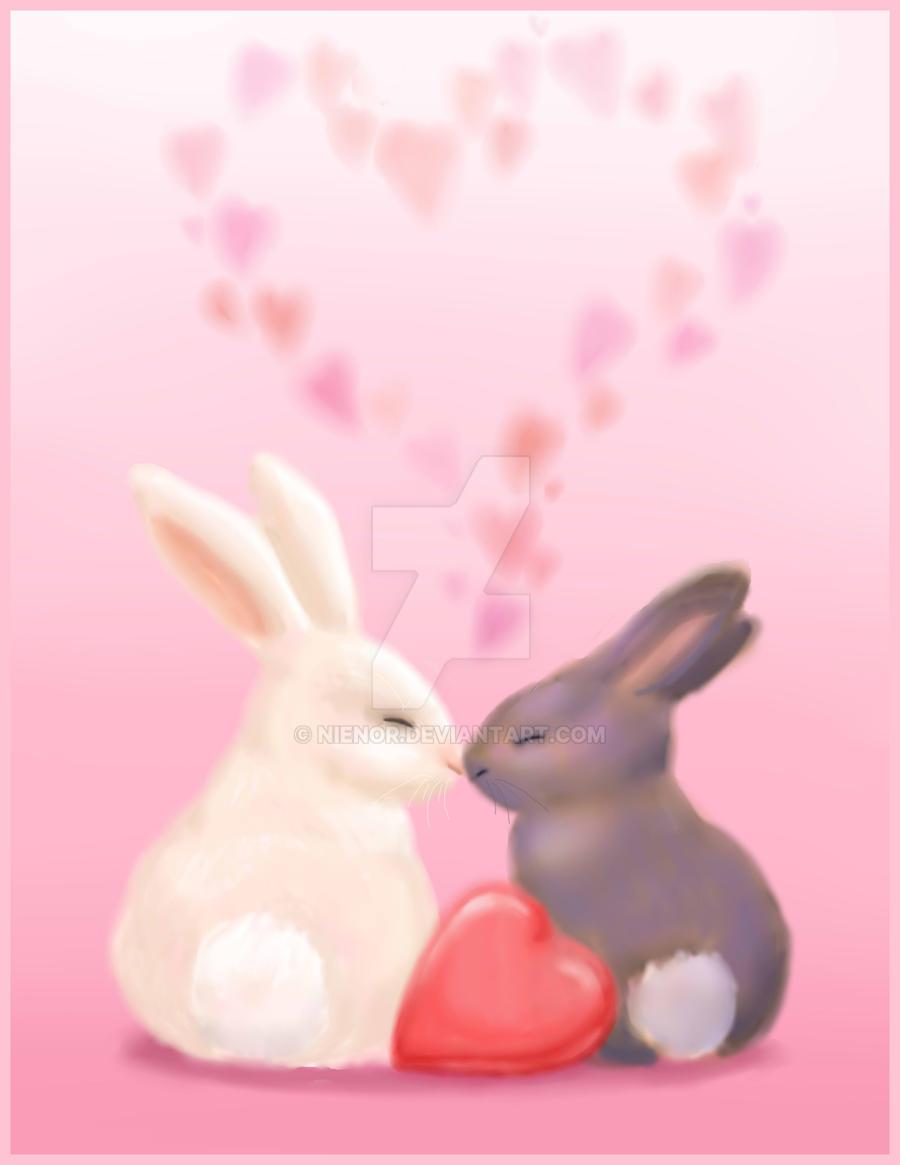 Perfekt Bunny Valentine By Nienor Bunny Valentine By Nienor