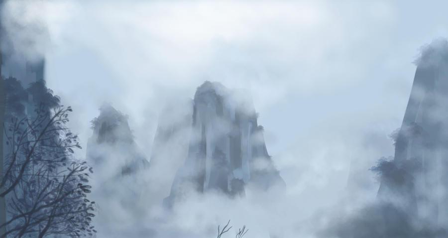 Foggy Day by nienor