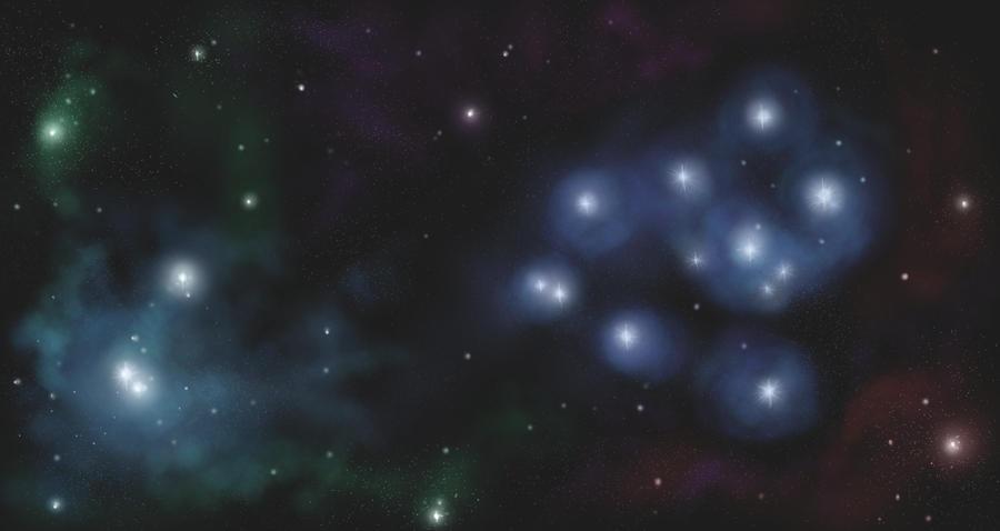 Space bg by nienor