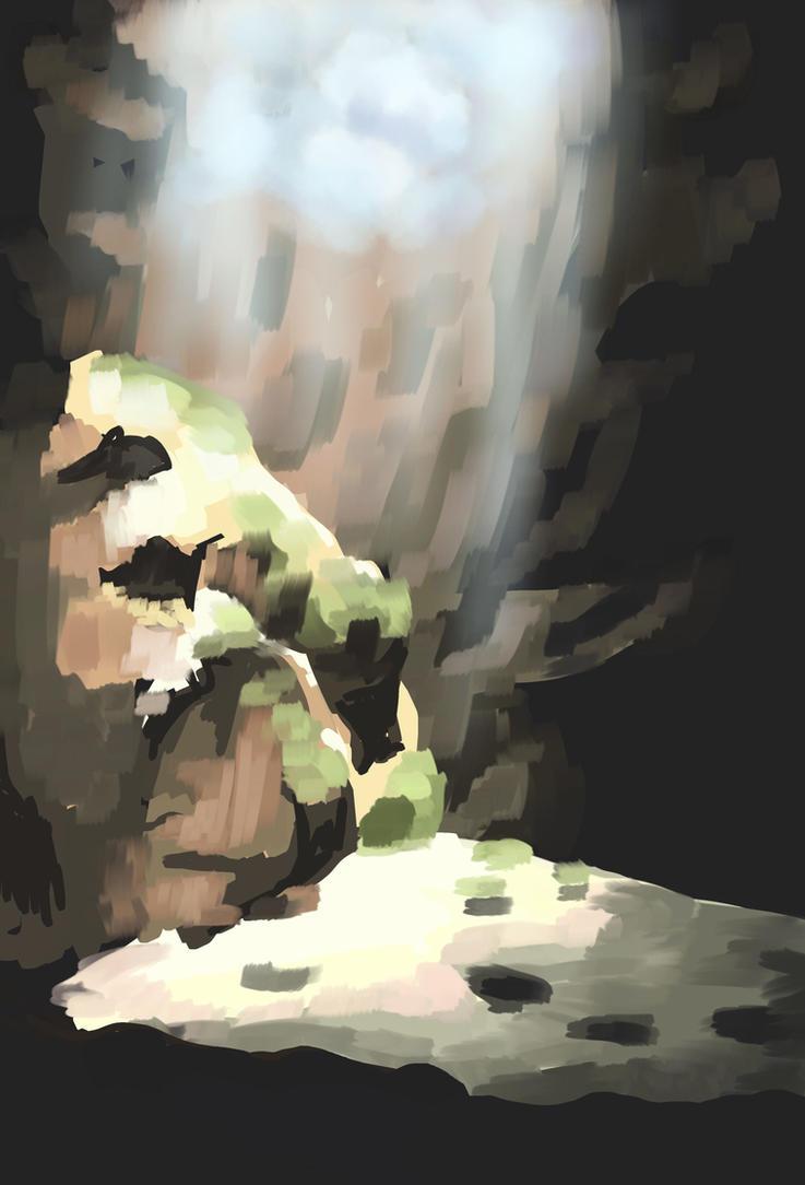 Cave Speedpaint by nienor