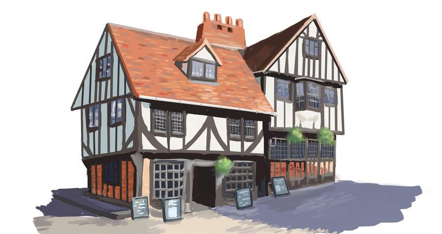 Tudor House new by nienor