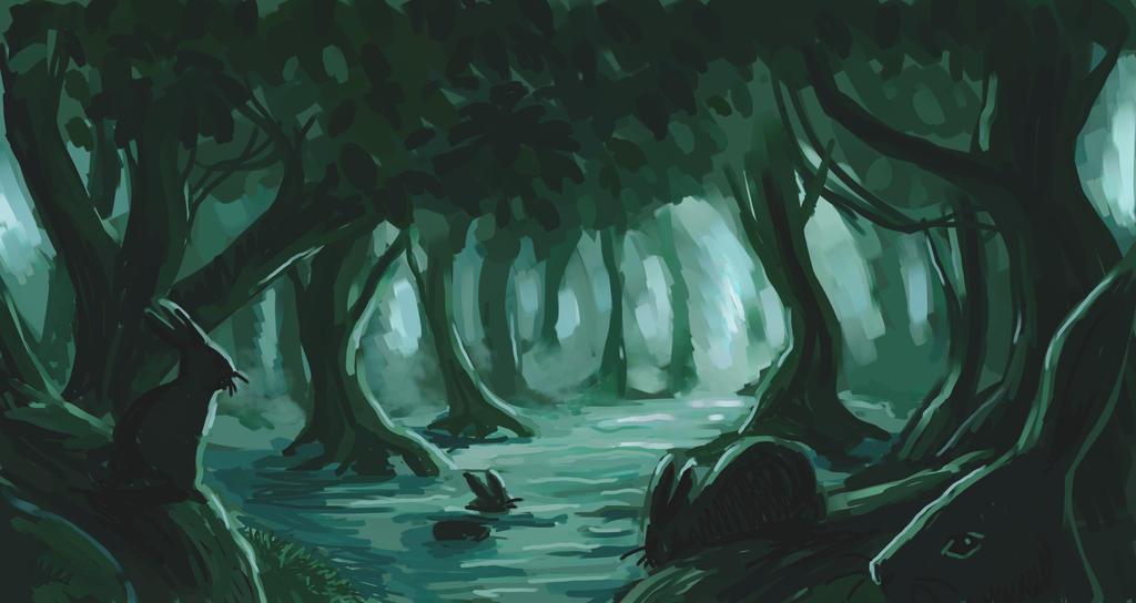 Swamp bunnies by nienor