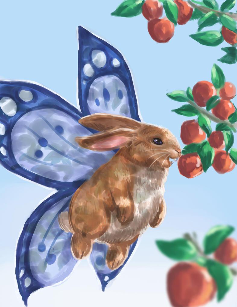Flutterbun by nienor