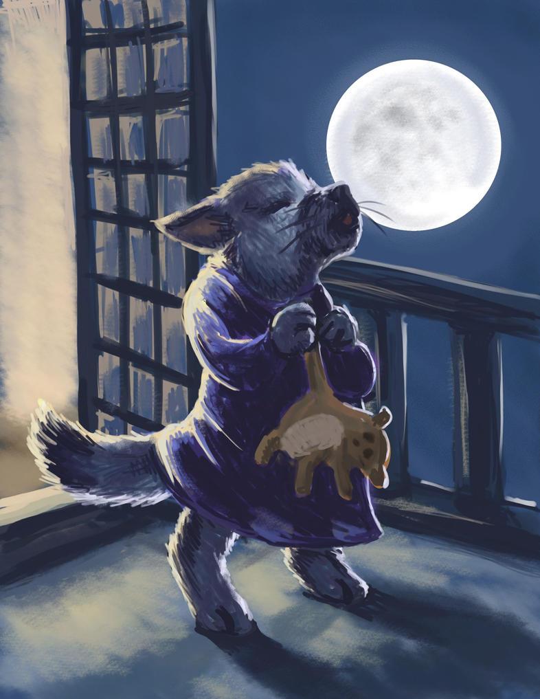 The Littlest Werewolf by nienor