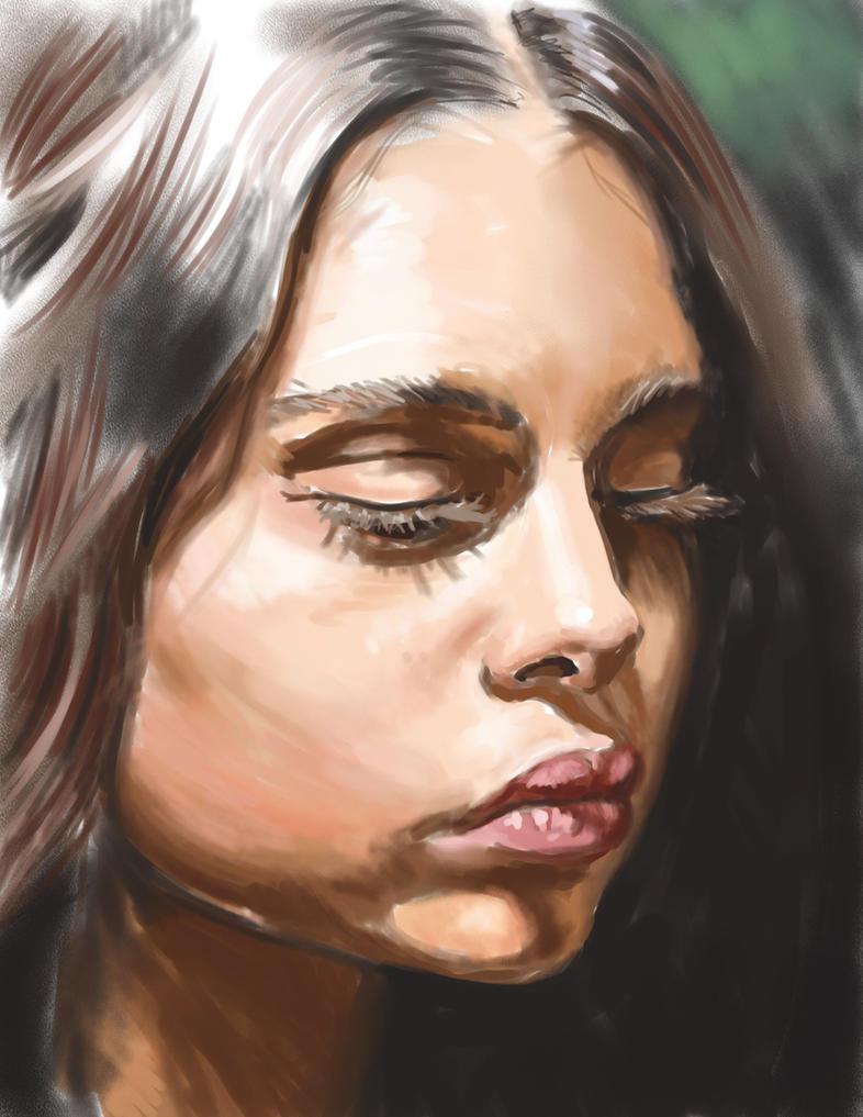 Samantha Harris by nienor