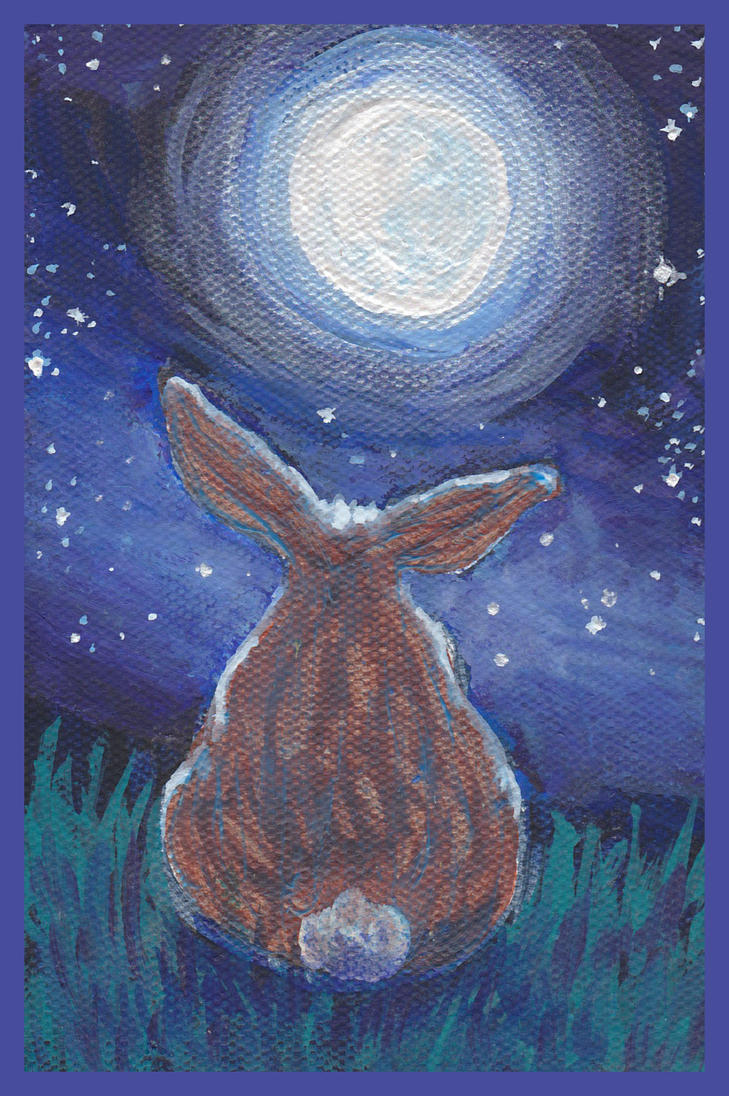 Bun butt at night by nienor
