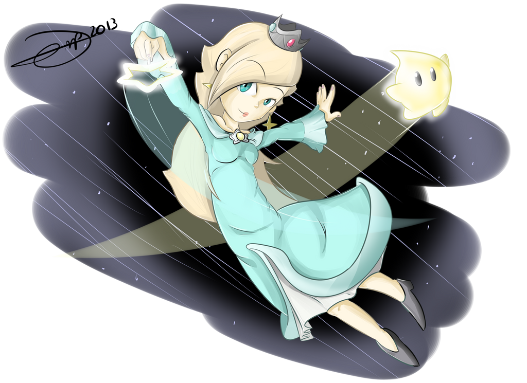 Rosalina and Luma Launch into battle! by drivojunior on ...