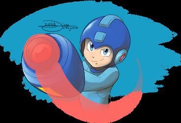 SUPER FIGHTING ROBOT MEGAMAN by drivojunior
