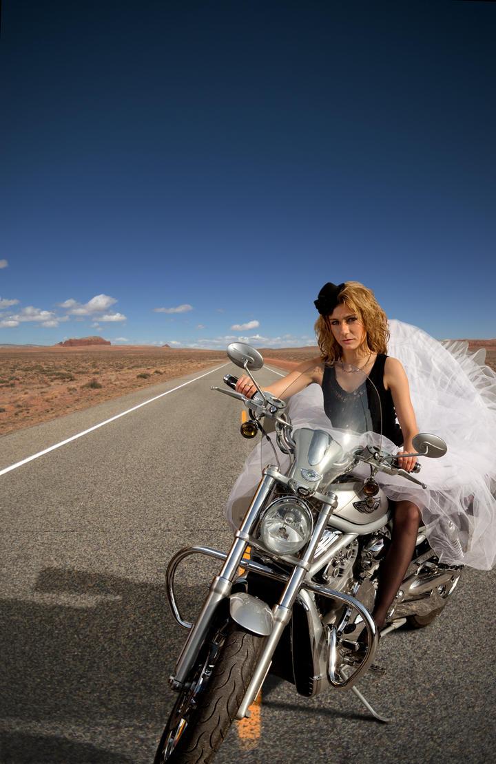 Desert road by unusualimage