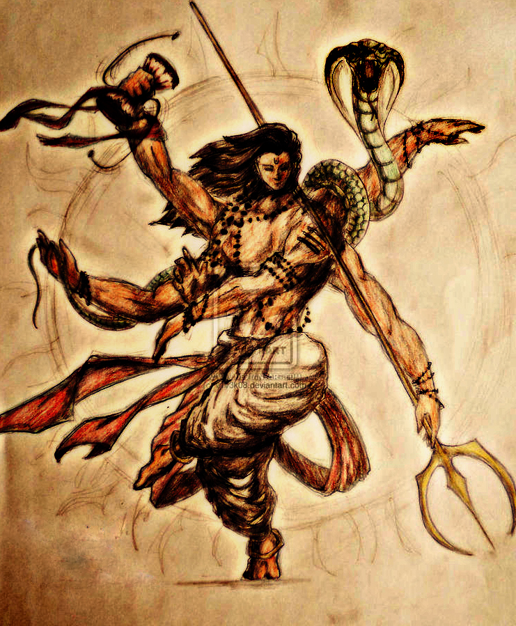 Har har mahadev dd 2lord shiv by msatana on deviantart for Har har mahadev tattoo