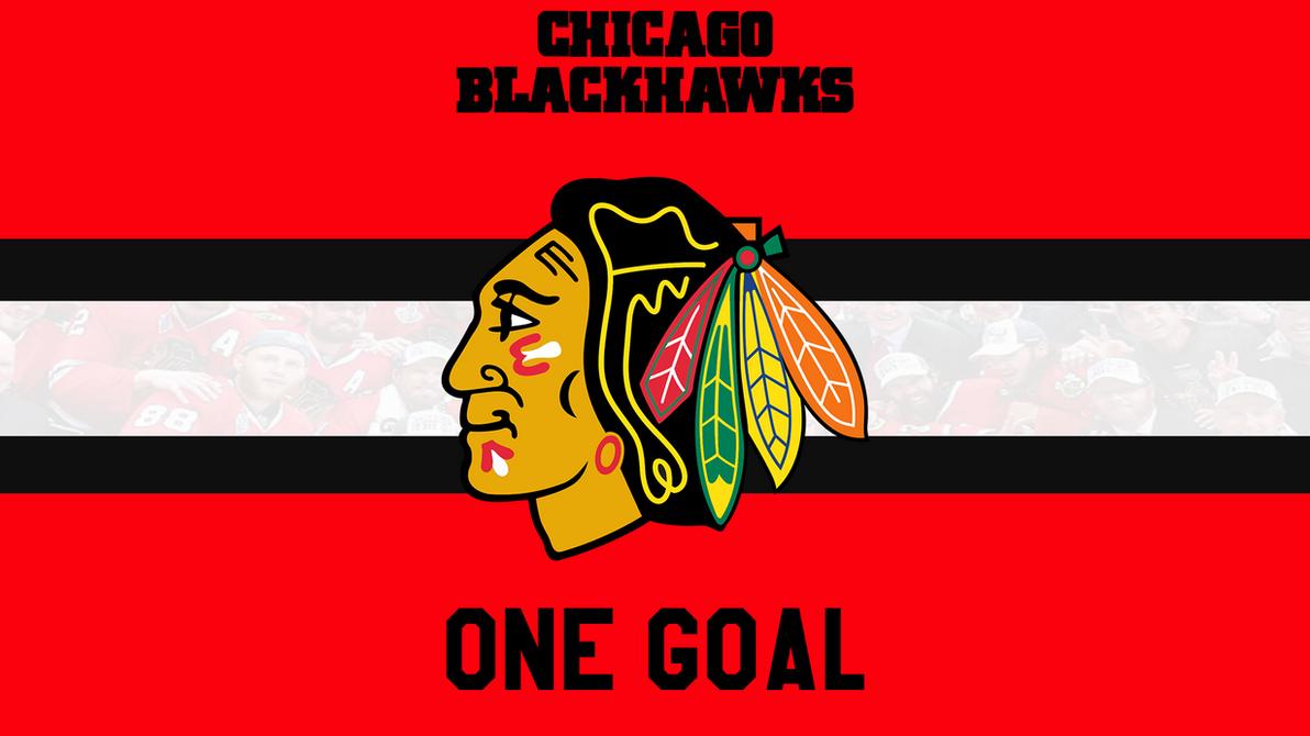 Chicago Blackhawks Wallpaper One Goal By TigersArts