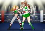 Georgia vs Makoto by SensouSanka by ShenPlease