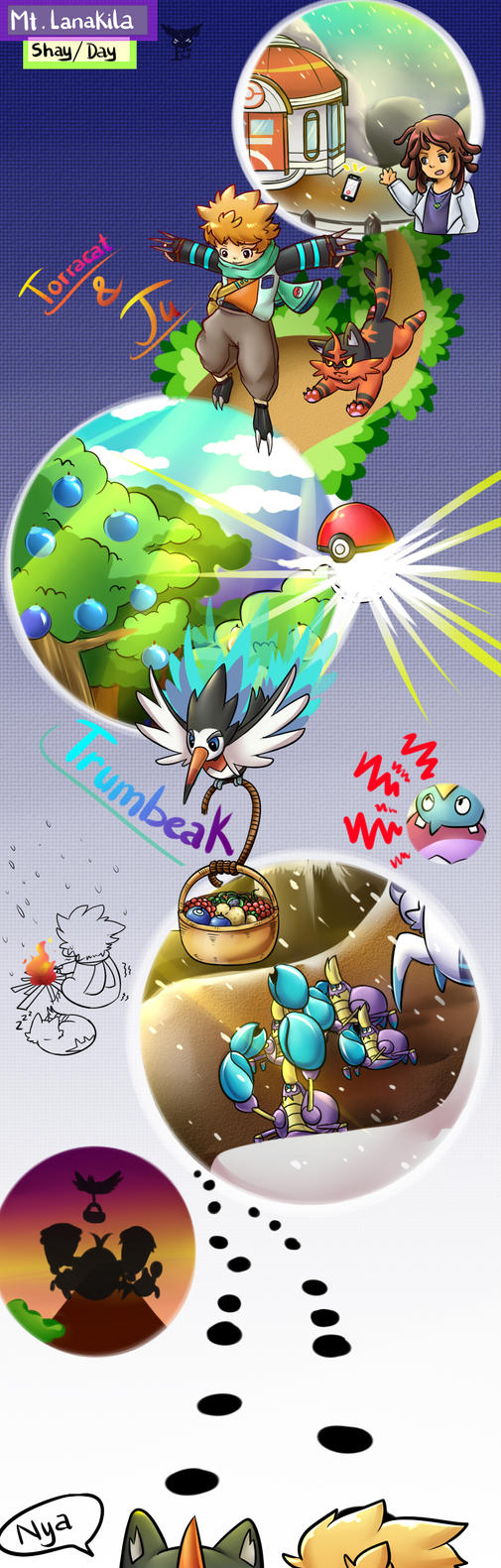 Pokemon rescue by MinhPuPu