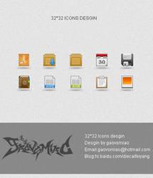 32x32 ICONS DESGIN by gaovsmiao