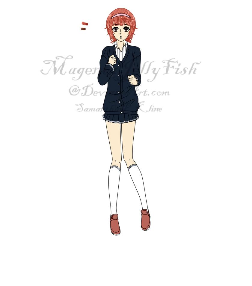Maria Berg by MagentaJellyfish