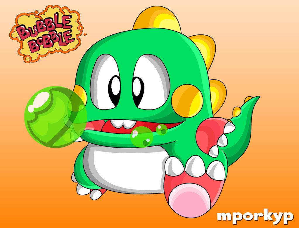 Bubble Bobble by mporkyp