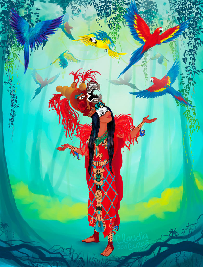 La Reina Roja Kinich Kakmo by Klaustrofovia