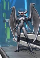 Gray Demoness