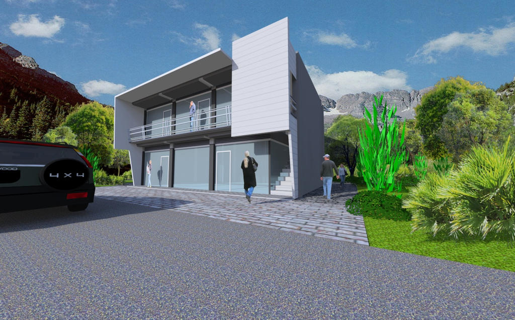 Two storey commercial building by kelby001 on deviantart for 2 story commercial office building plans