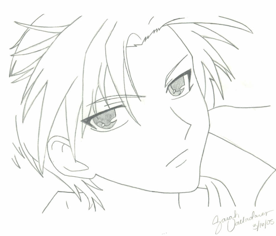 kyo coloring pages - photo#28