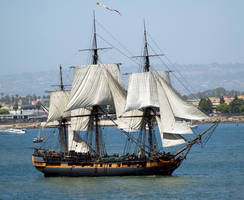 HMS Surprise by mohaganbev