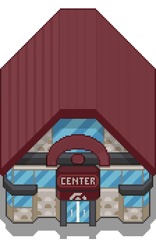 Pokemon Center Tile by Vazquinho25