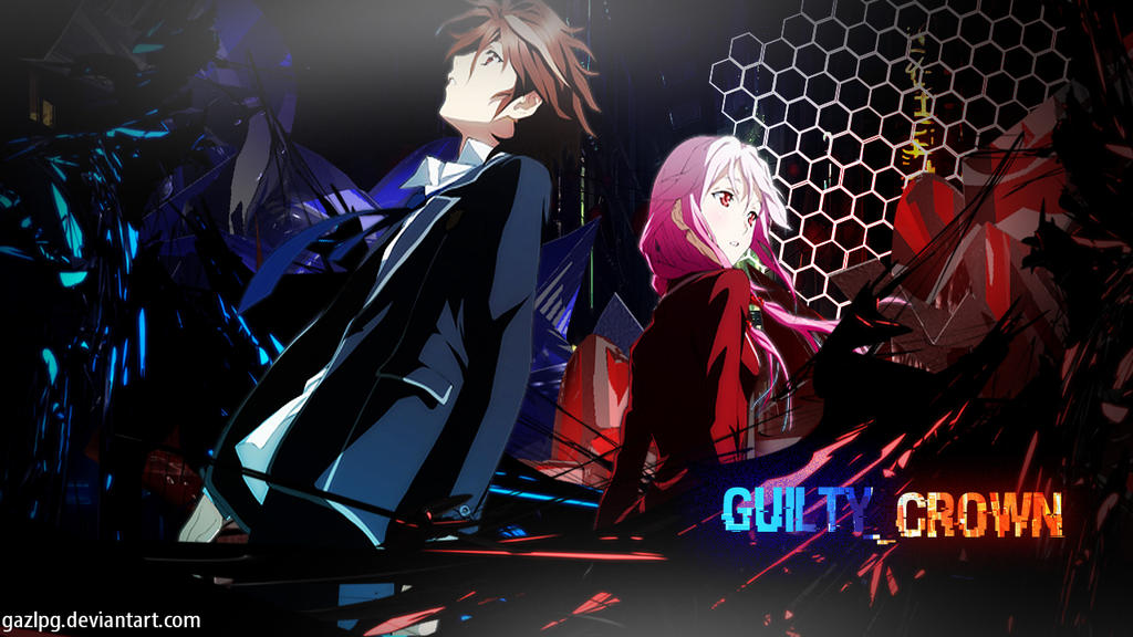 Guilty Crown Wallpaper Inori: Shu And Inori Anime Wallpaper [Guilty Crown] By GazLPG On