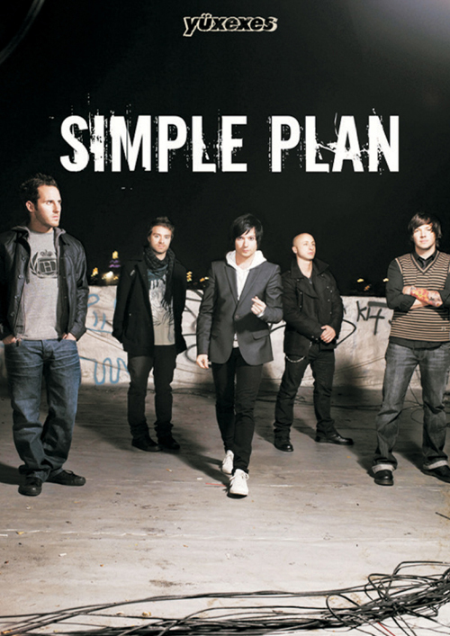 Simple Plan-Poster by yuxexesmagazine on deviantART
