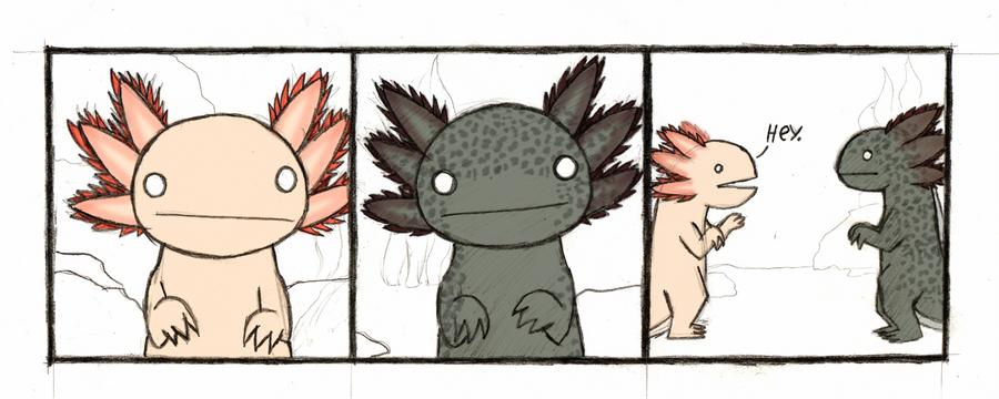 The adventures of a axolotl 01
