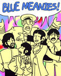 Blue meanies!