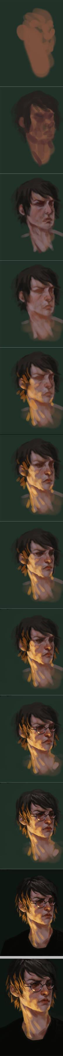harry portrait process