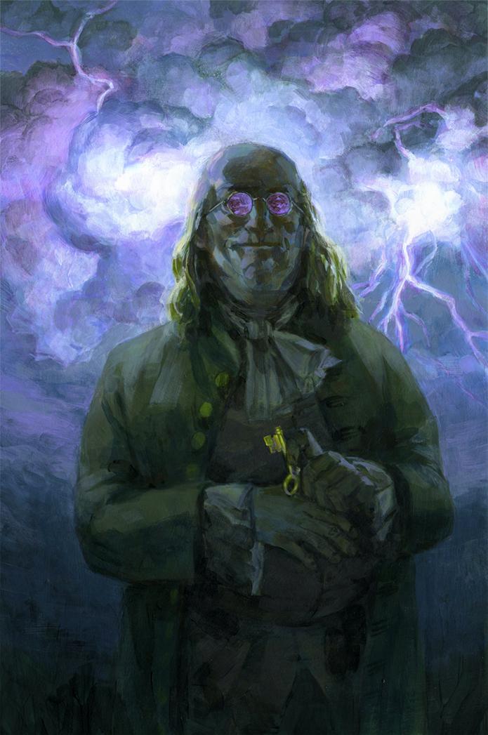 Ben Franklin by toerning