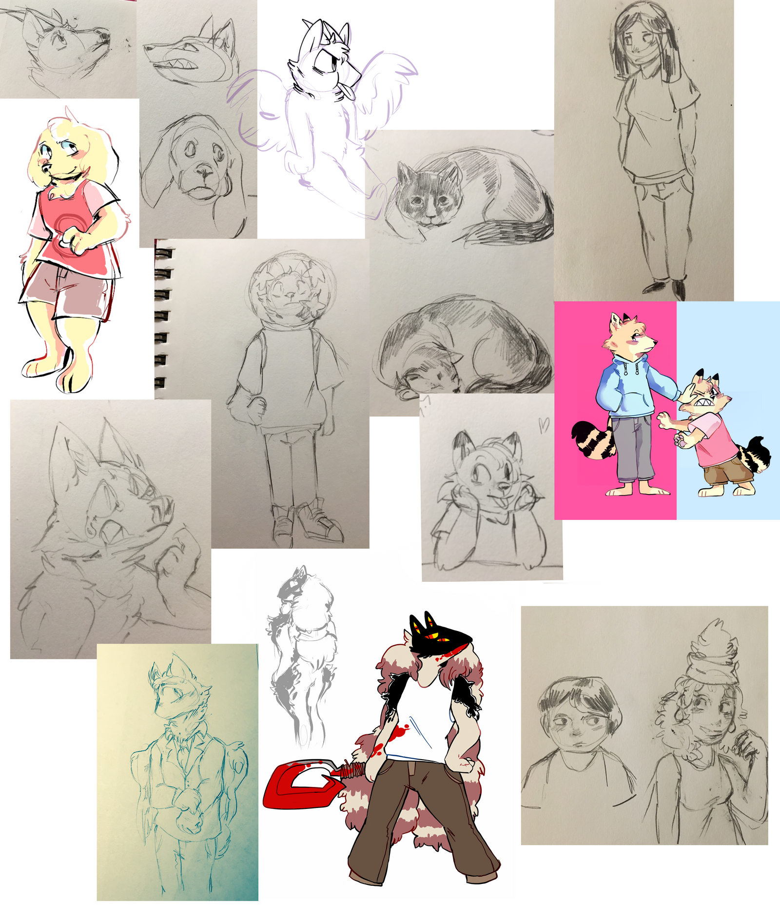 sketchdump1 by cayotze