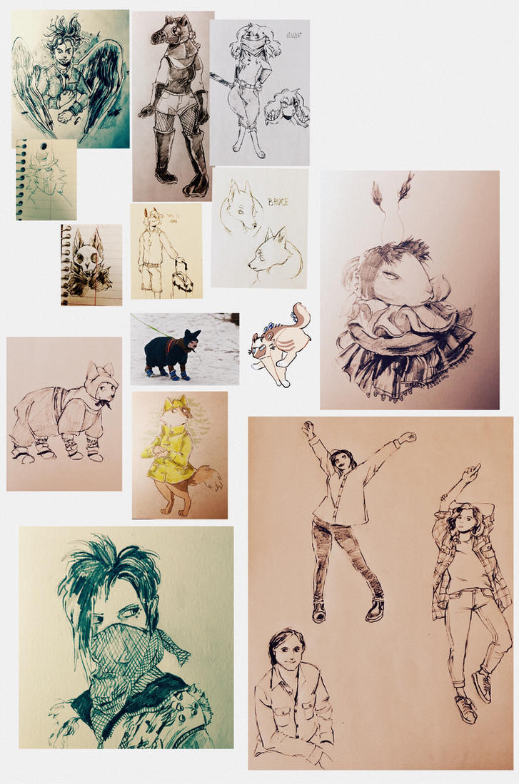 sketchdump6 by cayotze