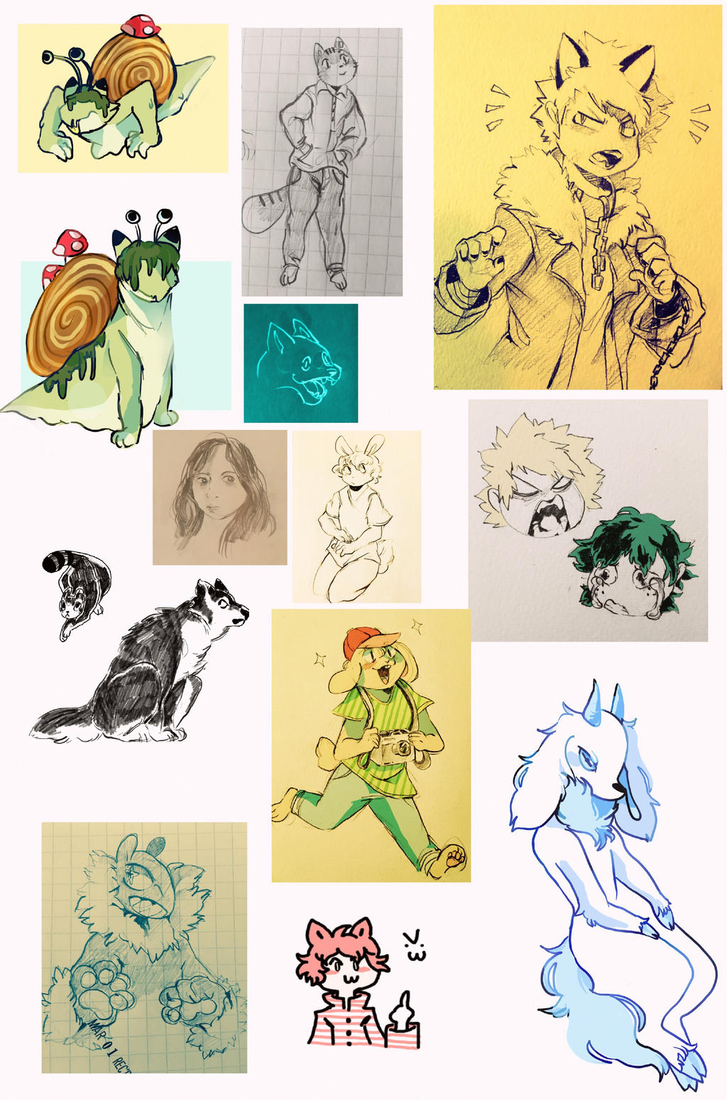 sketchdump11 by cayotze