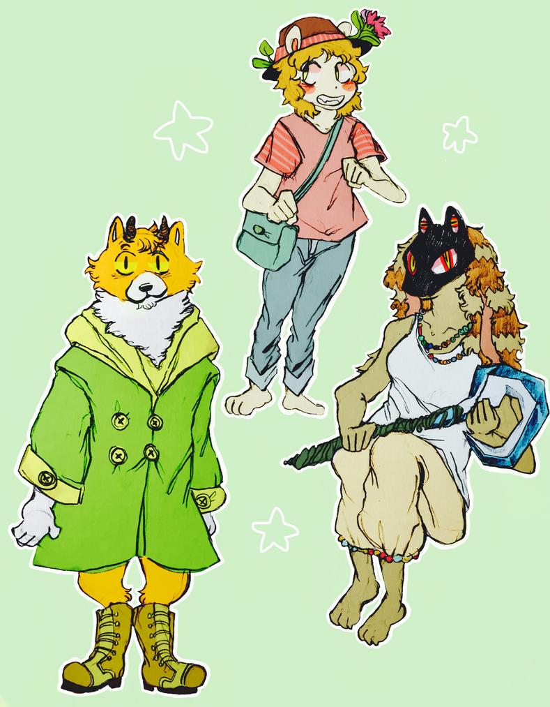 squad by cayotze