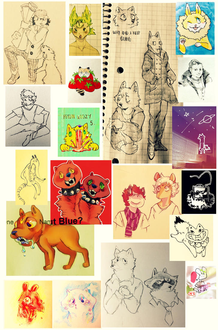 sketchdump15 by cayotze