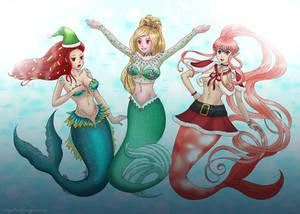 We wish you a merry fish-mas