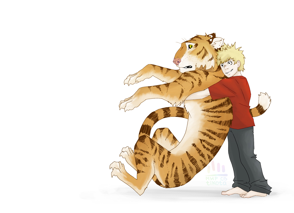 Calvin and Hobbes by tikota