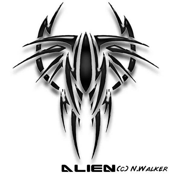 alien tattoo by damienaltaris on deviantART