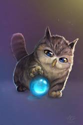 Tabby Owl by Ziggafee