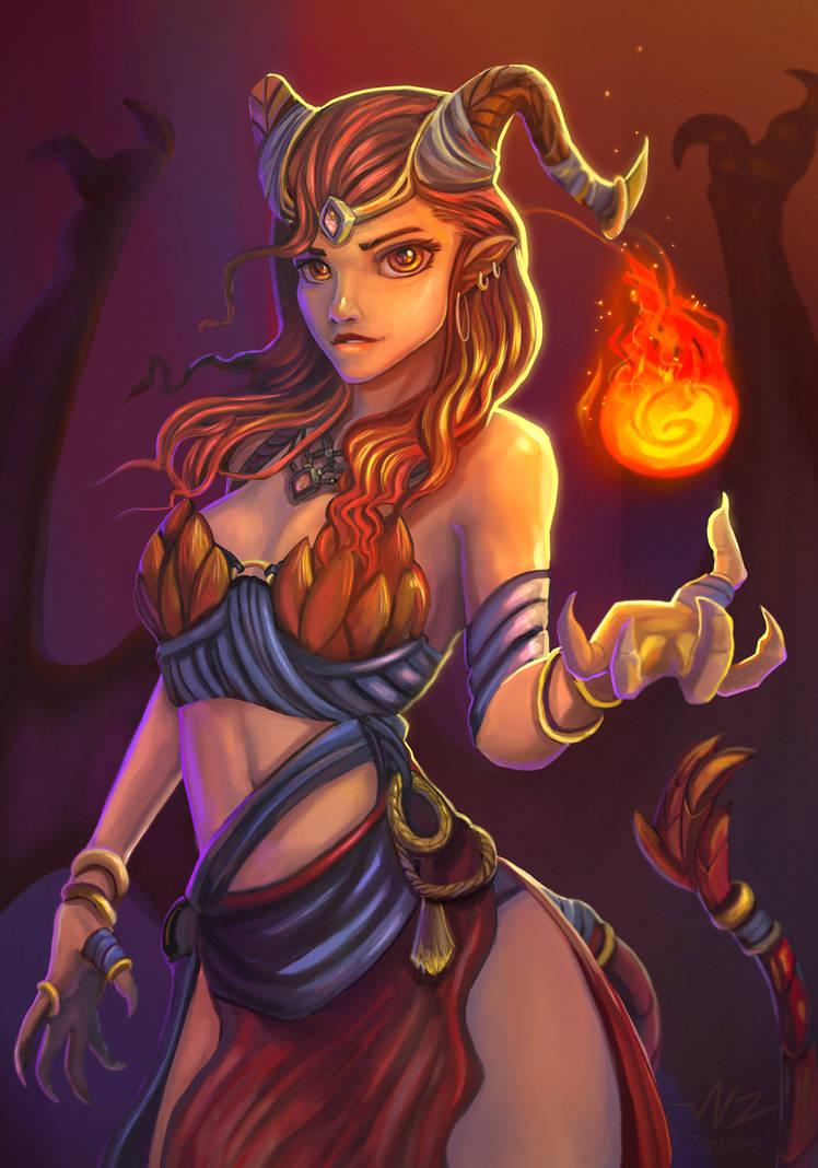 Dragon Queen by Ziggafee