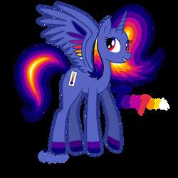 Mlp Joke OC- Princess Tempera the Thermal Alicorn by Cephei97