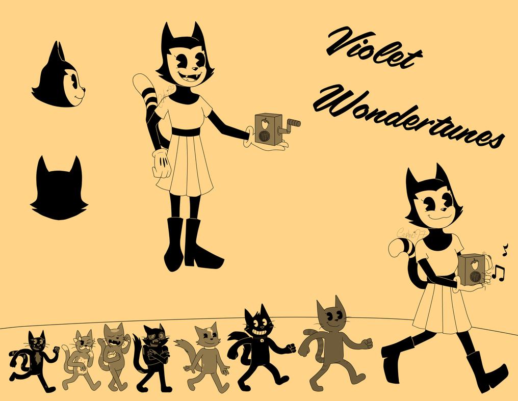 Violet Wondertunes, the Musical Wondercat by Cephei97