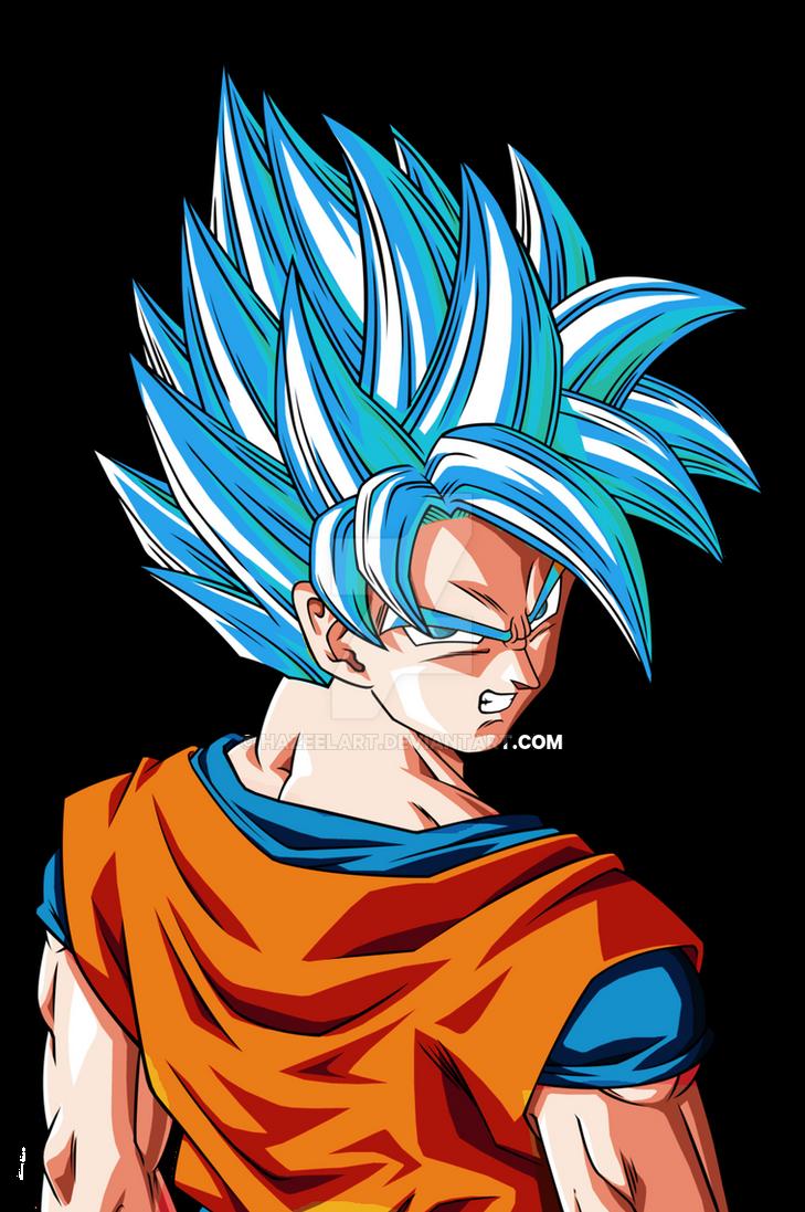 Goku super saiyan god ssj fukkatsu no f by hazeelart - Foto goku super saiyan god ...