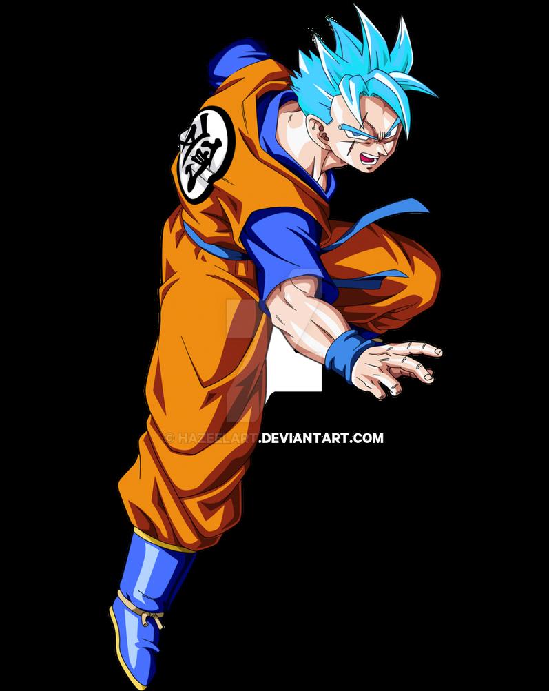 Future Gohan Super Saiyan God SSJ by HazeelArt on DeviantArt